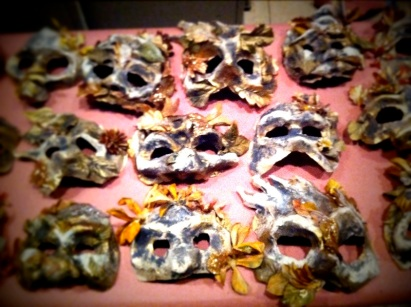 Masks for Fiddler on the Roof