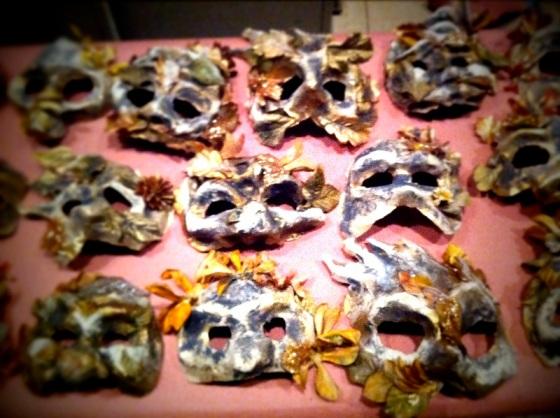 Masks for Fiddler on the Roof